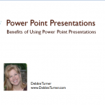 Power Point Presentations:  How to Add and Edit Pictures in Power Point