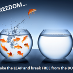 It's About Breaking Free From A Boss:  Your Freedom