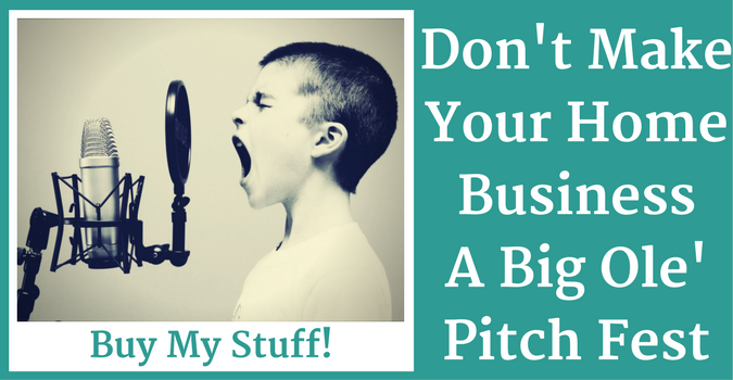 Don't Pitch Your Product All The Time (1)