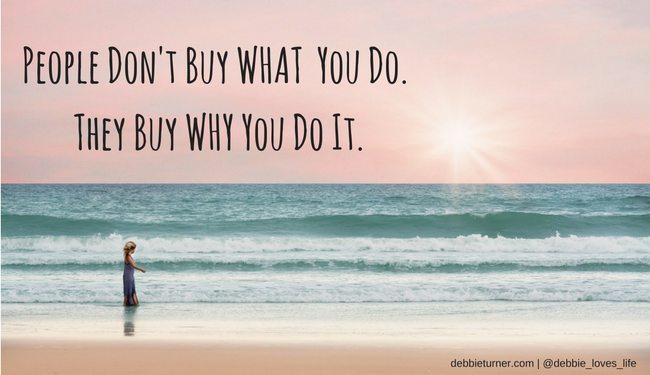 People Don't Buy WHAT You Do. They Buy WHY You Do It.