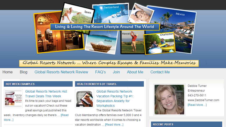 A Blog for Global Resorts Network Business and Travel Information