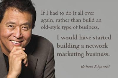 robert kiyosaki network marketing starting again