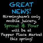 Sprout & Pour, Birmingham Juicery With Help Through Kickstart
